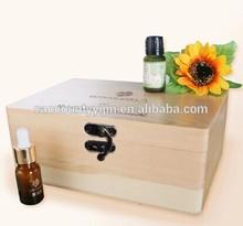 Pine Wooden Essential Oil Box