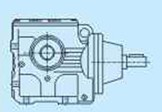 Flange mounted S series Helical-Worm gearbox units