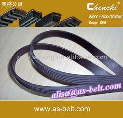 oem auto ribbed v belt car spare parts pk belt
