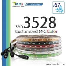 Colorful PCB SMD 3528 Waterproof UV 12V Led Strip Light