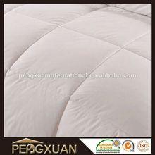 promotion custom plain home textile quilts/comforter/duvet