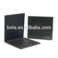 7MM Single Black Plastic Short PP DVD CD Case