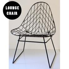 cees braakman metal wire sixties lounge chair