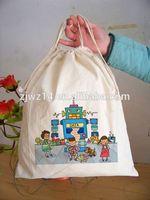 heavy duty cotton canvas shoulder bag/ clear pvc cosmetic bag/ promotional reusable cotton bags
