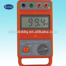 1000V 2500V 5000V KD2671G quality high accuracy Digital insulation tester Megger meter