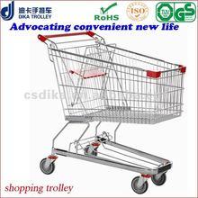 125 Liters German-style supermarket shopping trolley cart