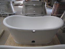 cast iron bathtub/2014 new style bathtub/freestanding bathtub/skirt bathtub