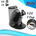 110V~60Hz , 25 seconds making 1 cup soft pod coffee maker
