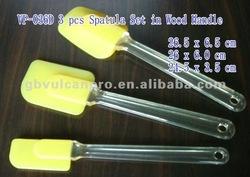 Good Grade Silicone Plastic Spatula, good cook silicone knife spatula