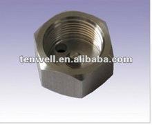 Custom CNC precision part machinery shenzhen hardware air conditioner part