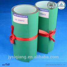1.5mm light green nylon base belt antistatic power transmission flat belt for paper industry
