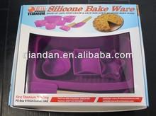 novel design colorful bakeware sets