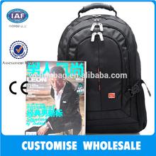 black branded fashion computer laptop backpack bag WB-9393