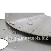 Fish hook Continuous rim Diamond saw blade for tile ceramic porcelian cutting