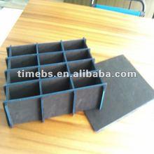 12 cells corrugated plastic corflute partition/diviers