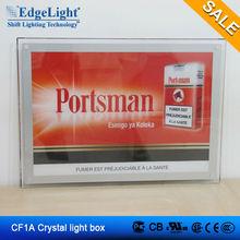 edgelight led crystal light board crystal light box CF1A