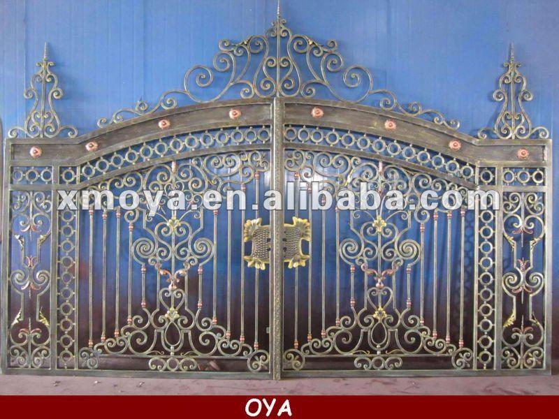 Latest garden iron gate grill designs