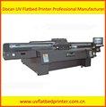Latest canvas,flex,pvc vinyl,poster,banner uv inkjet flatbed printer with roll option