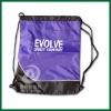 Promotional drawstring shoe Bag,gym sport bag