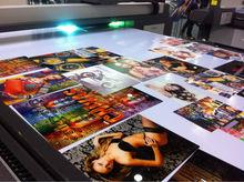 Latest 1440dpi banner,poster,vinyl,flex,canvas digital flatbed uv inkjet printer with roll option