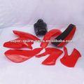 Vermelho KLX110 plastic carenagem da motocicleta para venda