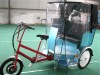 3 wheel electric tricycle with CE