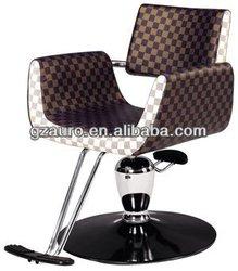 Portable Beauty Zebra Salon Chair AU-A19