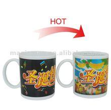 Hot Sensitive Ceramic Magic Mug Christmas Gift