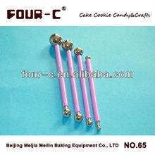 4pcs steel fondant modelling tools,newest cake decorating supplies
