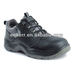 steel toe cap cow leather venting safety shoes