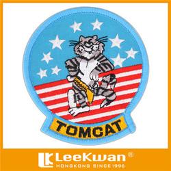 Tom Cat Embroidery Emblem for Garment