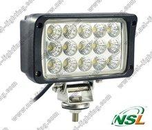 EMC High power 45W Cree LED work Light off-road SUV, ATV 4X4 tractor light