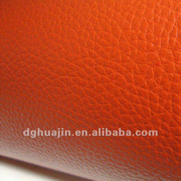 Arancione divano in pelle, similpelle ( pvc )-Pelle sintetica-Id ...