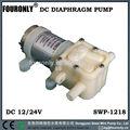 Swp-1218 série dc 12/24v miniatura elétrica da bomba de água