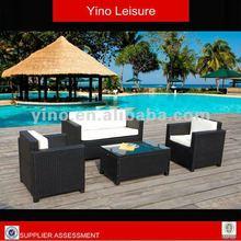 Outdoor Rattan Wicker Porch Hotel Restaurant Furniture Sofa Set