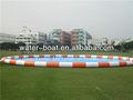 Inflable gigante de ronda de natación de la piscina, de aire inflables piscina de natación para el parque de agua sobre la venta
