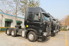Natural gas HOWO A7 6x4 tractor truck