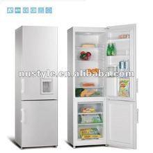 BCD-270W Double Door Refrigerator with Water Dispenser, Bottom Freerzer Refrigerator, Down Freezer Refrigerator