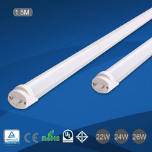 T8 Manufacturer with TUV CE&RoHS 22W 1500mm tube led