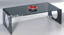 office desk tempered glass coffee table CT39