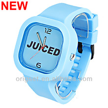 Newest 5ATM Waterproof TOP Quality Watch Silicon Watch Glow in dark strap silicon watch