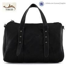 Factory supply guangzhou wholesale black color bags handbags fashion