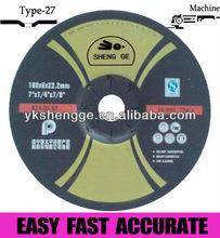 "4"" silicon carbide stone grinding wheels"