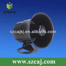 Anka waterproof 6 tone car alarm siren detector