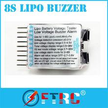Battery Capacity Checker , Cell meter for NiCd NiMH , Li-Po , LiFe , Li-Io, 2-8s