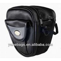 mini dslr camera bag pu leather digital camera bag