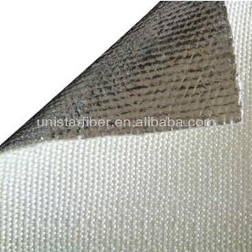 Aluminum Coated Fiberglass Fabric 3784g