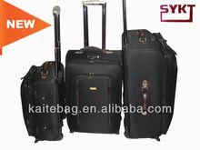 2013 Good Quality Black Luggage Trolley Sets