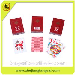Custom Design Standard paper Playing Cards