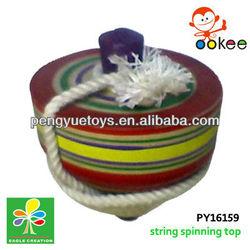 printed wood top -color stripe